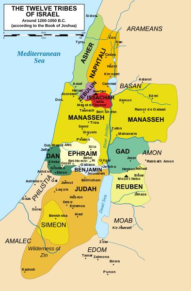 Israel 2 12-Staemme-Israels