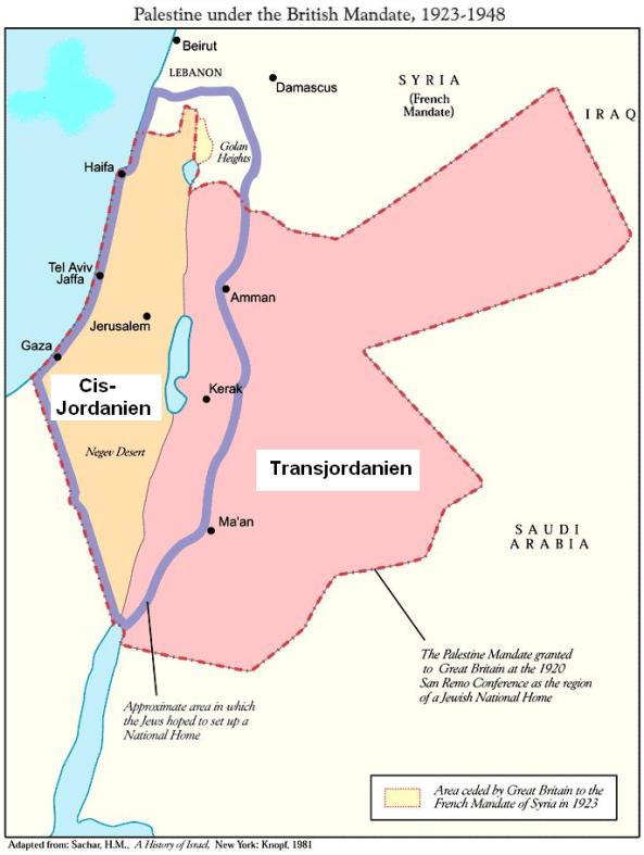 Israel 6 Britisches-Mandat-Palaestina