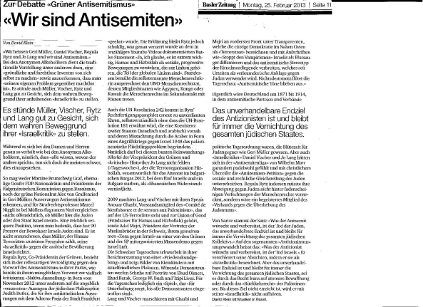 Antisemiten David Klein