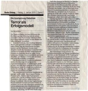 David Klein Terror als Erfolgsmodell